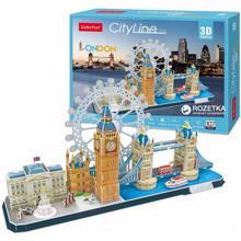 cubicfun 3D ასაწყობი ფაზლი City Line London