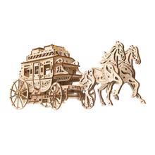 "UGEARS მოდელი ""საფოსტო დილიჟანსი"" (Stagecoach)"