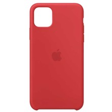 Apple Silicone Case for iPhone 11 Pro Max (PRODUCT) RED ქეისი