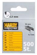 სტეპლერის ტყვიები Hardy 2241-650012 12 მმ 500 ც