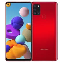 Samsung Galaxy A21s 3/32GB LTE Red მობილური ტელეფონი