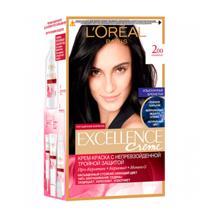 L'oreal Excellence N200 თმის კრემ-საღებავი