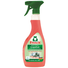 """Frosch - უნივერსალური საწმენდი სპრეი - """"გრეიფრუტი"""" 500 მლ"""