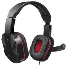 Defender Warhead G-260 Red+ Black Gaming ყურსასმენი