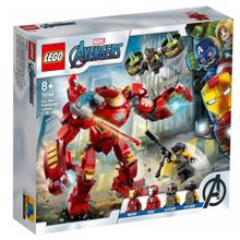 lego SUPER HEROES ცეცხლის კაცი ჰალკის წინააღმდეგ