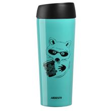 Ardesto Travel mug Coffee time Raccon თერმოსი