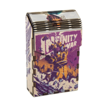Tibox • ტიბოქს ხის ყუთი Marvel | Avengers Infinity War