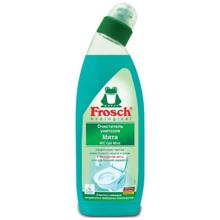 """Frosch - უნიტაზის საწმენდი გელი - """"პიტნა"""" 750 მლ"""