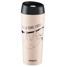 Ardesto Travel mug Coffee time Bradypus თერმოსი
