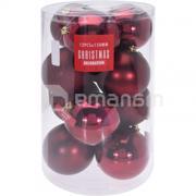 """საახალწლო სათამაშო """"ბურთი"""" CAN206230 15 სმ 1 ც"""