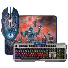 Defender Killing Storm MKP-013L SET Gaming Combo კლავიატურა და მაუსი