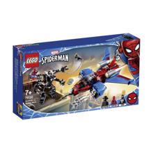 LEGO SUPER HEROES-სპაიდერმენი შხამის წინააღმდეგ