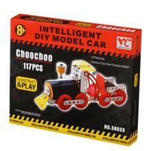 Same Toy DIY Model Choochoo მეტალის კონსტრუქტორი