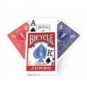 BICYCLE Playing Cards Bicycle Rider Back International Jumbo Index - ბანქოს დასტა