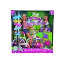 SIMBA თოჯინა ბარბი ველოსიპედით