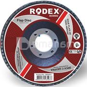 Rodex დისკი ბრტყელი სახეხი ქაღალდით Rodex RZF1015 115 მმ 100