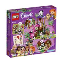 LEGO FRIENDS-პანდა ჯუნგლების ხის სახლში