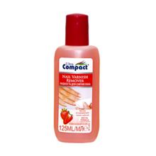 Compact ლაქის მოსაცილებელი სითხე მარწყვის არომატით 75 მლ