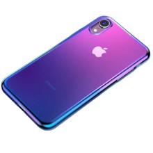 Baseus WIAPIPH61-XG03 for iphone XR Transparent/Blue ქეისი