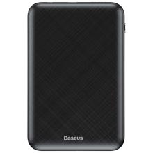 Baseus Mini S Digital Display Power Bank 10000mAh Black პორტატული დამტენი