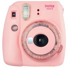 Fujifilm Instax Mini 9 Clear Pink ფოტოაპარატი