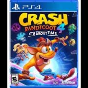 Sony PS4 CRASH 4: IT'S ABOUT TIME