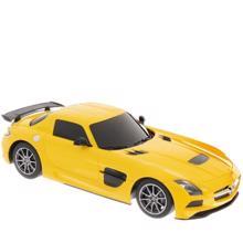 RASTAR სათამაშო მანქანა დისტანციური მართვით R/C 1:18 Mercedes-Benz SLS AMG Black series