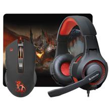 Defender Devourer MHP-006 Gaming combo ყურსასმენები და მაუსი