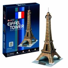 cubicfun Eiffel Tower - 3D ფაზლი