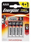 Energizer ელემენტი Energizer 4+1 LR03 E92 BP5 AAA Alkaline 5 ც