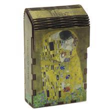 "Tibox • ტიბოქს ხის ყუთი ""The Kiss"" by Gustav Klimt"