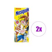 2 შეკვრა შოკოლადის ფილა რძიანი შიგთავსით Nesquik 100გრ 5ც