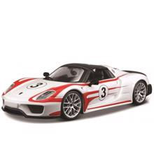 Bburago სათამაშო ლითონის მანქანა 1/24 RACING Porsche 918 Spyder