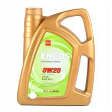 Eneos ძრავის ზეთი 0W20  Premium Ultra 4ლ