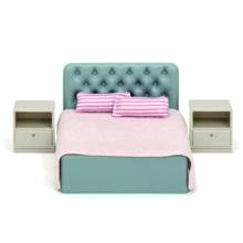 lundby Basic Bedroom Set ავეჯი საძინებელი ოთახისთვის