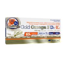 Olimp Nutrition Gold Omega 3 D3+K2 ვიტამინი 30 აბი