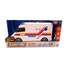 HTI Toys სასწრაფო დახმარების მანქანა