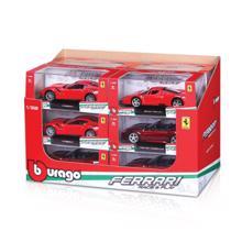 Geoluxe სათამაშო ლითონის მანქანების ნაკრები1:32 Ferrari R&P Vehicels Asst