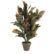 დეკორატიული ყვავილი ზომა: 73x40 სმ