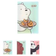ბლოკნოტი/We Bare Bears- PP Memo Book 88 Pages