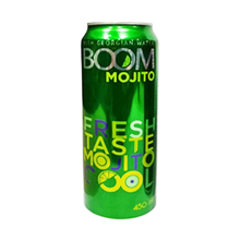 Boom ენერგეტიკული სასმელი მოჰიტოს არომატით 450 მლ