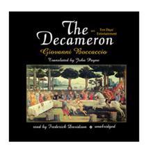 The Decameron,  Boccaccio