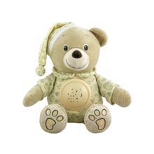 Babymix მუსიკალური რბილი სათამაშო დათვი განათებით