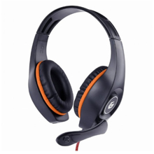 Gembird GHS-05-O Black/Orange ყურსასმენი
