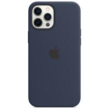 Apple iPhone 12 Pro Max Silicone Case with MagSafe Deep Navy მობილურის ქეისი