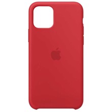 Apple Silicone Case for iPhone 11 Pro (PRODUCT) RED ქეისი