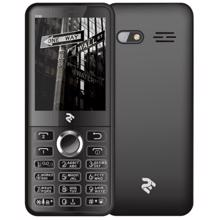 2E Mobile phone E280 2018 Dual SIM Black