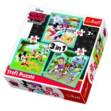 """TREFL  """"3 in 1"""" - Mickey Mouse with friends ფაზლი"""
