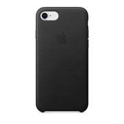 ქეისი iPhone 8 / 7 Leather Case Black