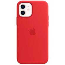 Apple iPhone 12/12 Pro Silicone Case with MagSafe RED მობილურის ქეისი